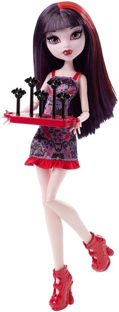 Amazon.com: Monster High Ghoul Fair Elissabat Doll: Toys & Games