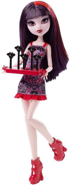 Amazon.com: Monster High Ghoul Fair Elissabat Doll: Toys & Games