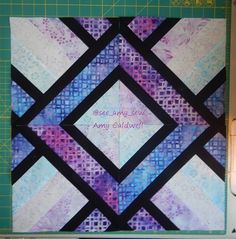 3 Dude's quilt block spin from Man sewing with Rob Appell/Jenny Doan Tute.