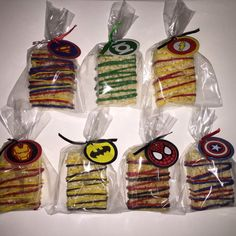Super Hero Rice Krispies by SweetsbySmooches on Etsy