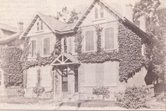 "From the Germantown Courier; Wednesday, November 8th, 2006.  ""Shown is the Jellett house at 30 Haines Street.  A man of many interests, Edwin C. Jellett was a horticulturist, photographer and creator of many scrapbooks, including eight on the Wissahickon."""