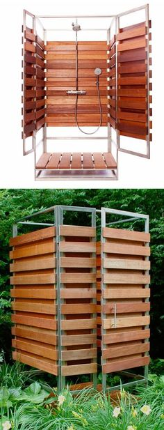 outdoor dusche sichtschutz im garten gartenideen outdoor. Black Bedroom Furniture Sets. Home Design Ideas