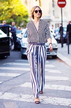 What Olivia Palermo Would Wear to a Job Interview via @WhoWhatWear