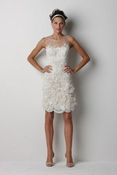 short wedding dress- lovely #wedding dress #wedding #dress #bride