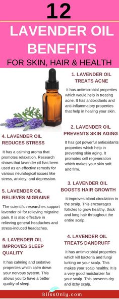 12 Lavender Oil Benefits For Skin, Hair And Health - BlissOnly