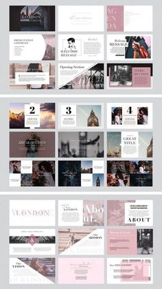 Design presentation power point layout 36 ideas for 2019 Ppt Design, Design Powerpoint Templates, Sitemap Design, Layout Design, Portfolio Design Layouts, Design Brochure, Slide Design, Keynote Template, Keynote Design