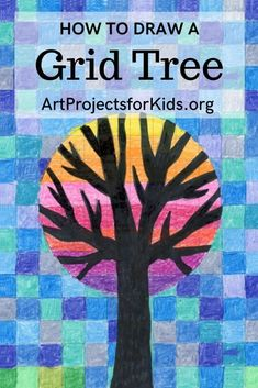 Learn how to draw a Circle Grid Tree with this easy step by step tutorial. #artprojects #artprojectsforkids #drawing #howtodraw #howtodrawforkids