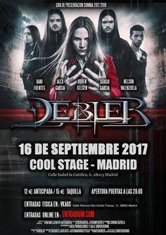 """La joven formación de metal sinfónico, estará presentando su álbum """"Somnia"""" el 16 de Septiembre en la sala Cool Stage. Viniendo de una gran gira de este verano que ya acaba, donde han podido actuar en varias ciudades del país, ya en festivales o abriendo a la mítica banda, Mägo de..."""