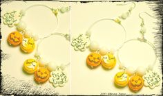 Orecchini Macarons/Trick or treat?♥~ #creepy #Halloween #kawaii #Bijoux #cute