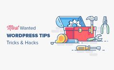 Looking for the most wanted WordPress tips, tricks and hacks? Here are the most useful WordPress tips and hacks to help you use WordPress like a PRO!