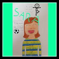 Yo soy... Sara. Hecho con PicsArt