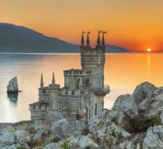 Swallow's Nest Castle / Ukraine