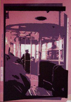 «Les archives de Monsieur X» 2004-2005, 35 x 51 cm, collage sur transparents espacé