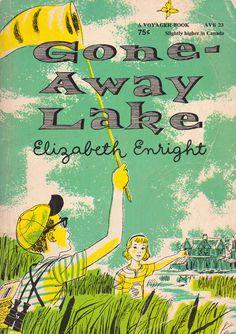 Gone-Away Lake by Elizabeth Enright, illustrated by Beth and Joe Krush.