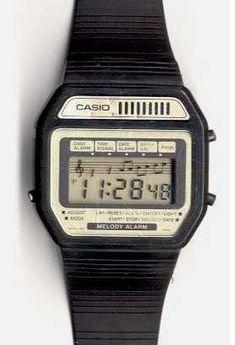 Nerd Watch Museum: Nerd Watches Part One Retro Watches, Vintage Watches, Cool Watches, Watches For Men, Wrist Watches, Casio Vintage Watch, Casio Watch, Casio Digital, Digital Watch