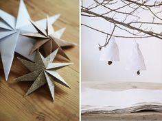 Paper DIY ideas for the holidays, Remodelista
