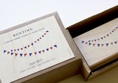 natural rubber stamp designed by INK+WIT / made in the USA