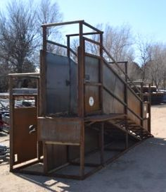Pipe Loading Chute w/ Trailer Load Out