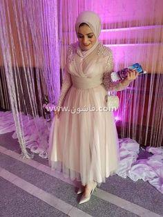 2baf71405bded صور فساتين مودرن للمحجبات 2019 Hijab Dress Party