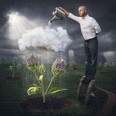 como veo que hoy nop lloverá,     voy a regar mis ideas.             !     ')  de logan zillmer