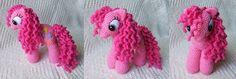 Häkelding: My Little Pony - Häkelanleitung  - für Rahel in weiß -