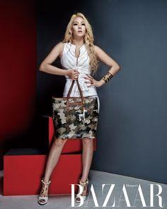 CL - Harper's Bazaar Magazine October Issue Kpop Girl Groups, Korean Girl Groups, Kpop Girls, Christina Aguilera, Aaliyah, Jennifer Lopez, Rihanna, Chaelin Lee, Lee Chaerin