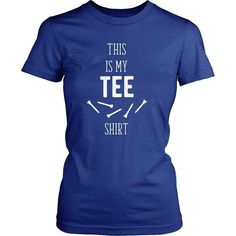 If you are a proud golf player & enthusiast then This is my Tee shirt tee or hoodie is for you. Custom Golf inspired T-Shirts & Apparel by TeeLime. Movie T Shirts, Funny Shirts, Tee Shirts, Tees, Golf Player, Movie Tv, Hoodies, Mens Tops, Shirt Ideas