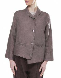 Oska Giuletta Linen Jacket   JULES B