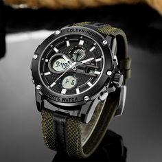 GOLDENHOUR LED Military watches. Military MenDigital WatchFashion ... 36a651d470
