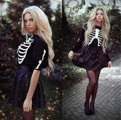 Скелетон (by Ekaterina Normalnaya) http://lookbook.nu/look/4142542-
