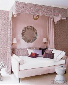 for my little girl, when she grows up and is not so little. love the framed bed, its so regal and inviting I want this now!