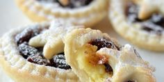 Helen Jessup includes custard in her mince pie recipe, making the perfect festive snack.