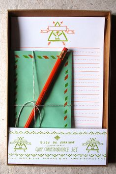 Little Scout | Camp Writing set