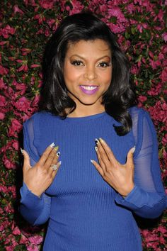 Taraji P. Henson #beauty #nails