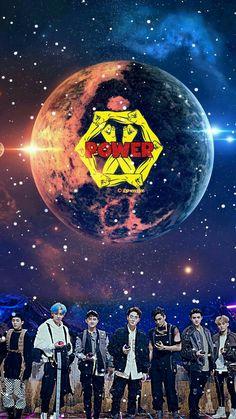 New wallpaper iphone music posters ideas Power Wallpaper, New Wallpaper Iphone, Music Wallpaper, K Pop, Kpop Backgrounds, Exo Album, Exo Ot12, Chanbaek, Exo Lockscreen