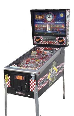 Pinball Machines - Diner Pinball Machine - The Pinball Company