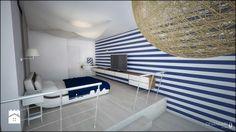 Marynistyczna sypialnia - zdjęcie od Devangari Design