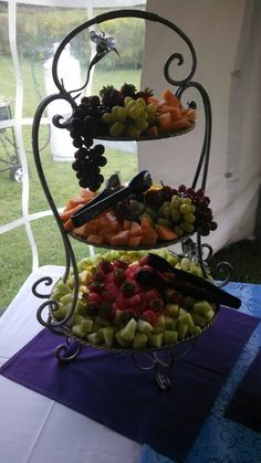 Fruit display Feastivities Catering Service