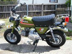 HONDA Z50 MINIBIKE Honda Bikes, Honda Motorcycles, Vintage Bikes, Vintage Motorcycles, Custom Mini Bike, Honda Ruckus, Moped Scooter, Japanese Motorcycle, Pit Bike