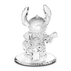 Stitch Glass Figurine by Arribas Brothers