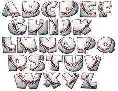 Sports Letter Fonts   Set Includes all letters Upper case. Each upper case letter is ...