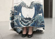 mfa hokusai prom dress