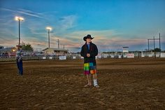 A bull rider at the rodeo to benefit the victims of the Bastrop Texas wildfire.  The worst wildfire in Texas history.