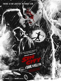 SIN CITY: A DAME TO KILL FOR by Paul Shipper, via Behance