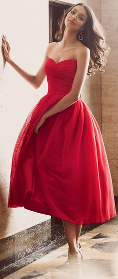Red Strapless Sweetheart Homecoming Dress Formal Party Dress Pleated Formal Cocktail Dresses Short Tulle Evening from MakerDress Evening Dresses, Prom Dresses, Formal Dresses, Formal Wear, Wedding Dresses, Peplum Dresses, Daytime Dresses, Dresses 2014, Stylish Dresses