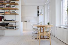 One Room Apartment in Stockholm Showcasing an Ingenious Interior Design - http://freshome.com/2011/03/16/one-room-apartment-in-stockholm-showcasing-an-ingenious-interior-design/