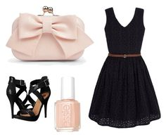 """""""Untitled #8"""" by princesscl3 on Polyvore featuring Yumi, Michael Antonio, Essie and Boohoo"""