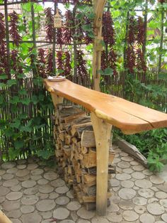. Outdoor Furniture, Outdoor Decor, Bench, Home Decor, Decoration Home, Room Decor, Home Interior Design, Desk, Backyard Furniture