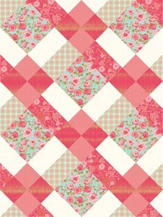 Quilt View- I just LOVE this pattern. was going to give up pinterest...but finding new arrangements I've never seen before...forget it! this is Gorgeous!