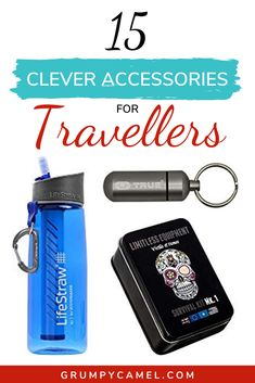 Looking for gift ideas for travellers? Check out these amazing travel gadgets and accessories, including must-haves for hiking and camping. Informations About Gift Guide: Best Gadgets PinYou can easi Clever Gadgets, Geek Gadgets, Gadgets And Gizmos, Best New Gadgets, Technology Gadgets, Best Travel Gadgets, Inspector Gadget, Travel Items, Travel Gifts